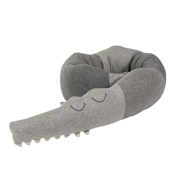 "Cushion ""Sleepy Crocodile"" from Sebra"