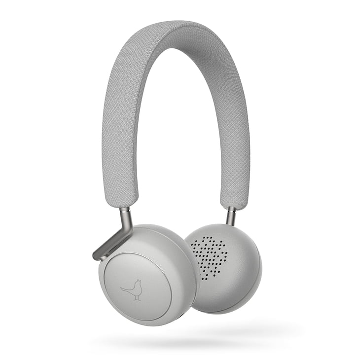 The Libratone - Q Adapt Wireless ANC On-Ear Headphones, Cloudy White