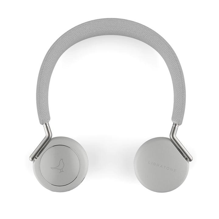 Libratone - Q Adapt Wireless ANC On-Ear Headphones in Cloudy White