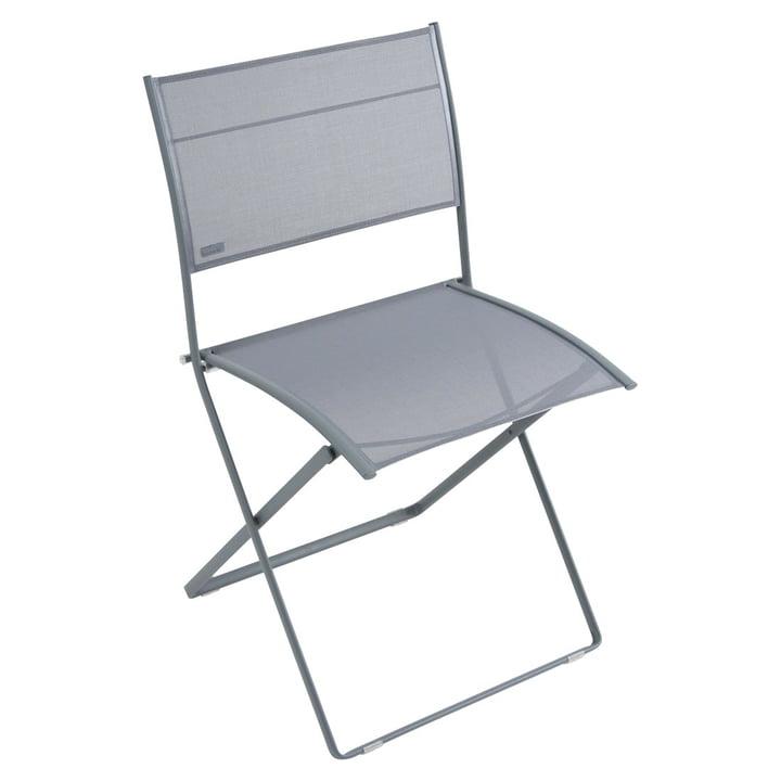 Plein Air Chair by Fermob in Storm Grey