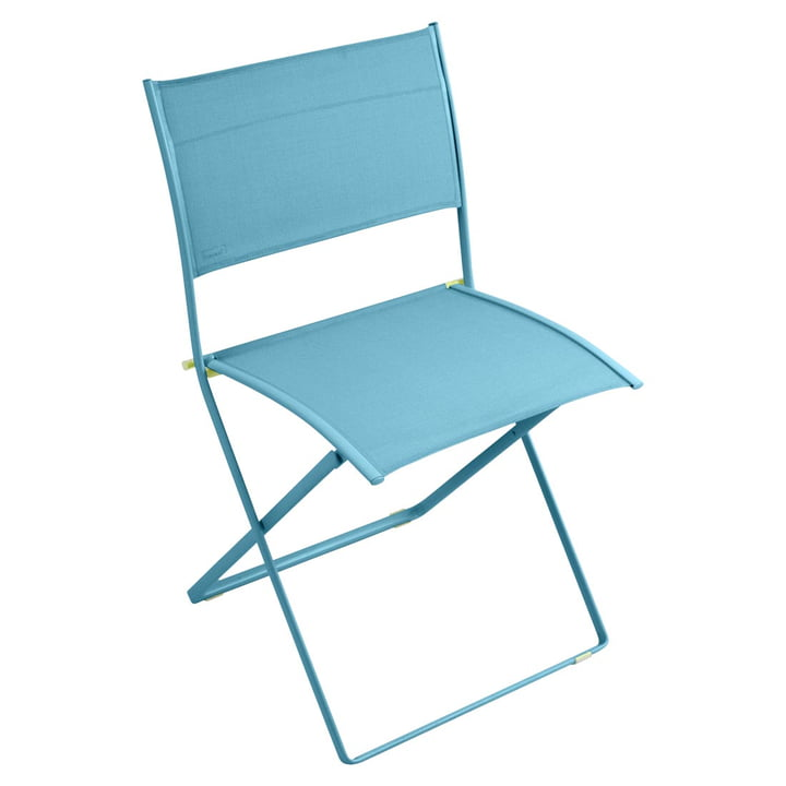 Plein Air Chair by Fermob in Turquoise