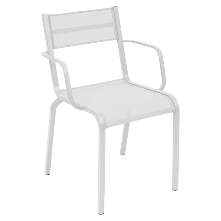 Oléron Armchair by Fermob in Cotton White