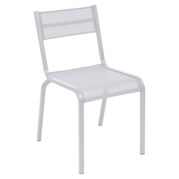 Oléron Chair by Fermob in Cotton White
