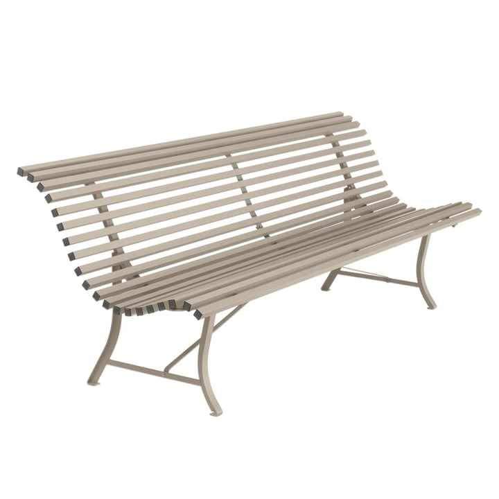 Louisiane Bench 200 cm by Fermob in Nutmeg