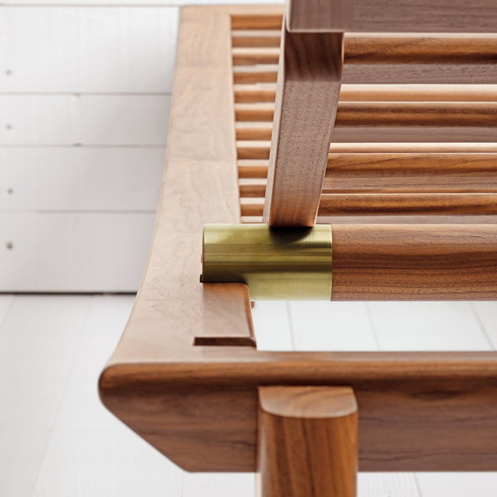 Ulisse Daybed by ClassiCon in Walnut