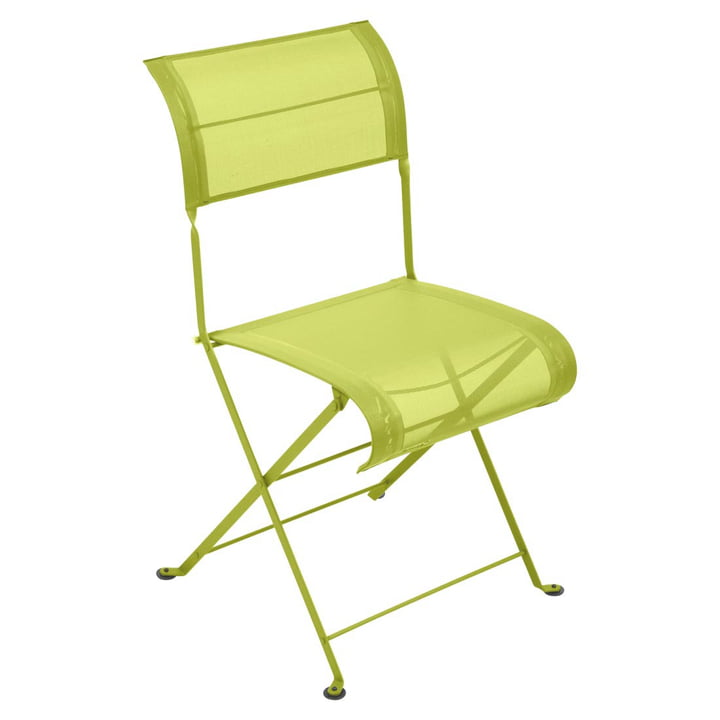 Dune Folding chair from Fermob in vervain