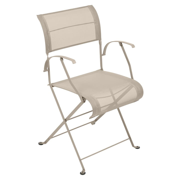 Dune Folding chair from Fermob in nutmeg