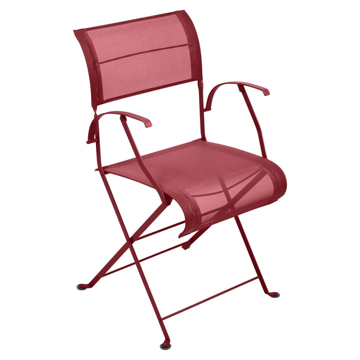 Dune Folding chair from Fermob in Chili