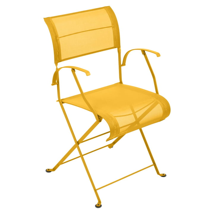 Dune Folding chair from Fermob in honey