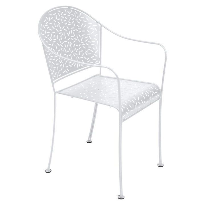 Rendez-Vous Armchair by Fermob in Cotton White