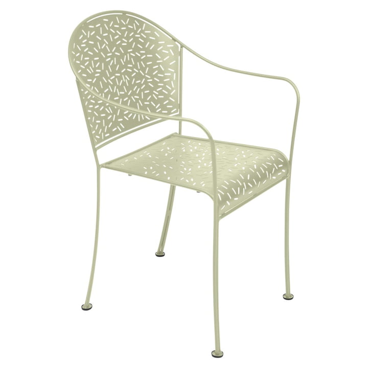 Rendez-Vous Armchair by Fermob in Willow Green