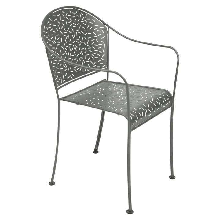 Rendez-Vous Armchair by Fermob in Rosemary