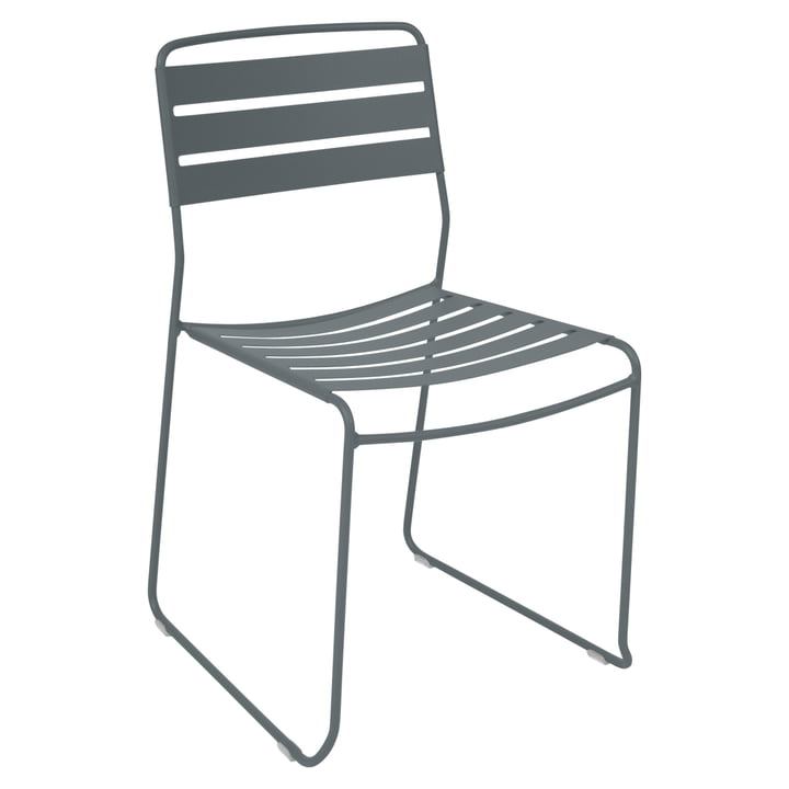Surprising Chair by Fermob in Storm Grey