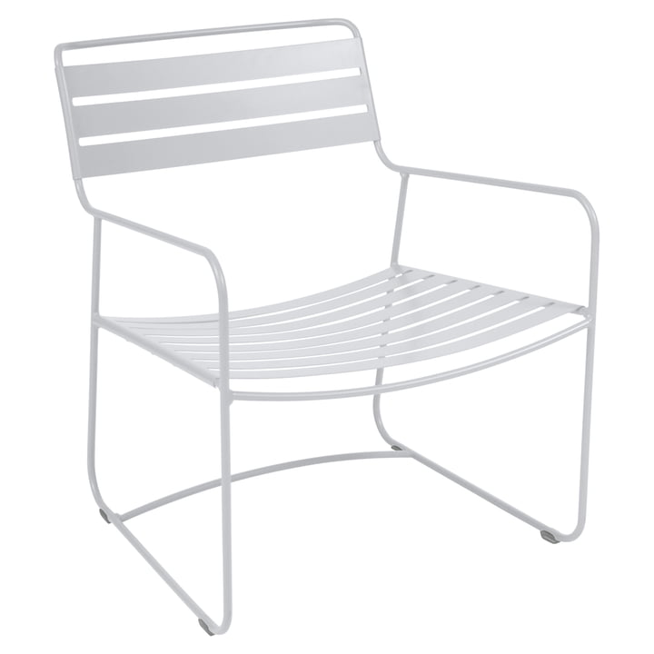 Surprising Lounger Armchair by Fermob in Cotton White
