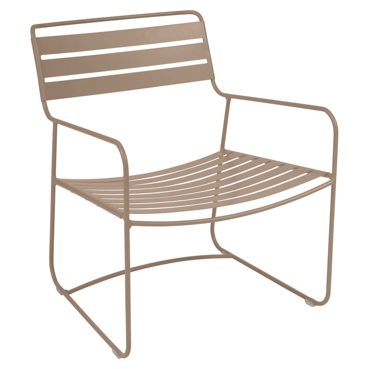 Surprising Lounger Armchair in nutmeg by Fermob