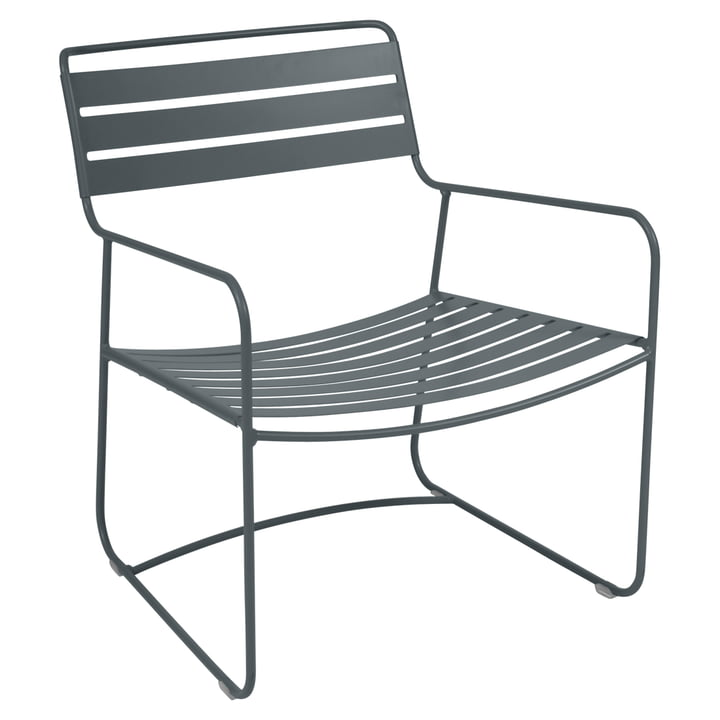 Surprising Lounger Armchair by Fermob in Storm Grey