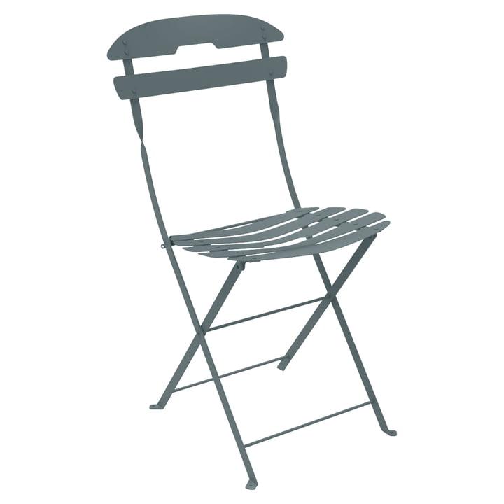 La Môme Chair by Fermob in Storm Grey