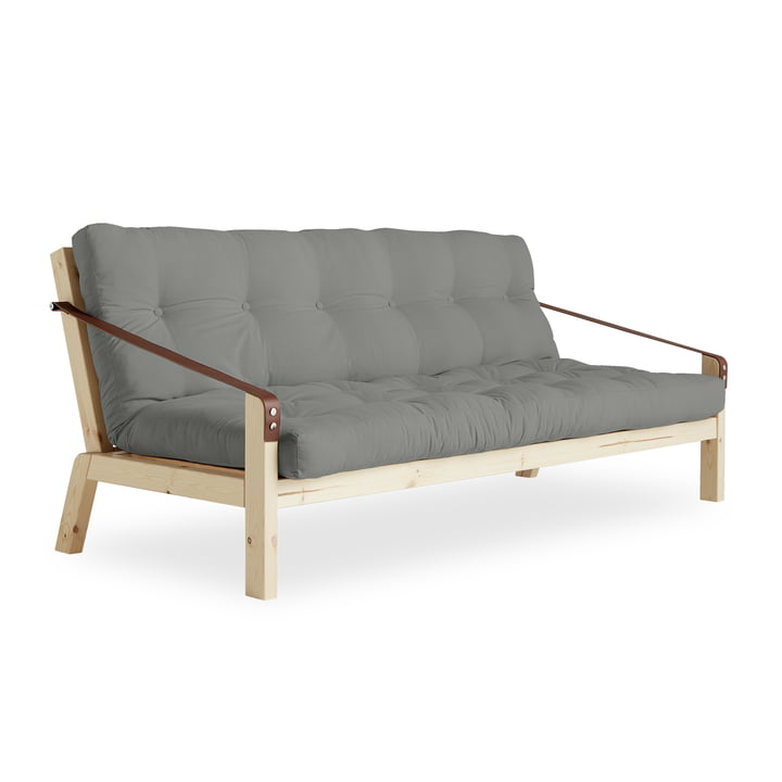 Poetry Sofa by Karup in Pine Natural / Grey