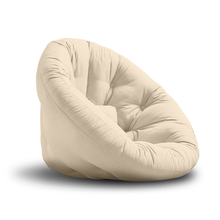 Nido by Karup in Beige (polycotton 747 gris)