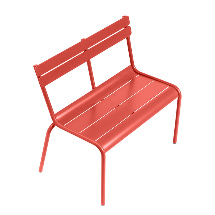 Luxembourg Kid Children's Bench by Fermob in Capucine