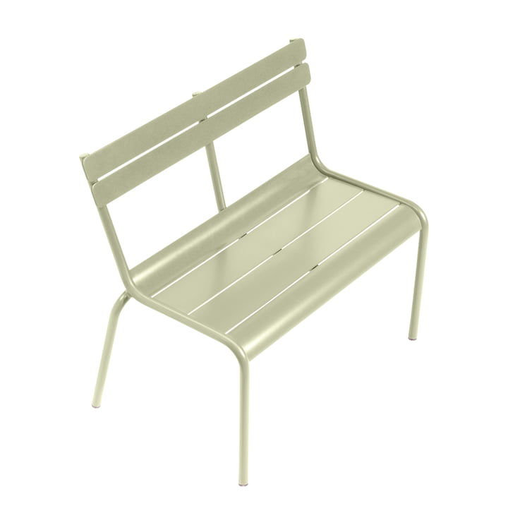Luxembourg Kid Children's Bench by Fermob in Willow Green