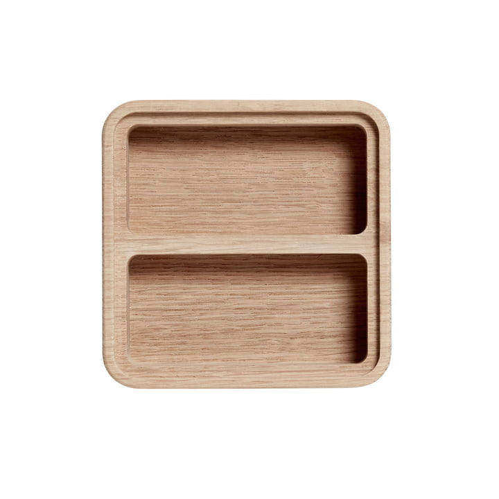Create Me Box 12 x 12 cm by Andersen Furniture out of Oak with 2 Compartments