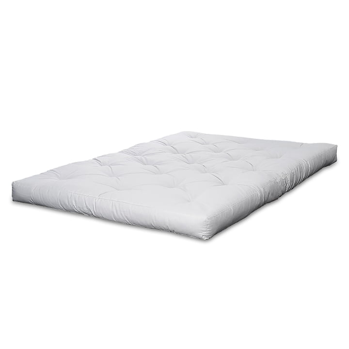 Futon mattress from Karup Design with cover in white