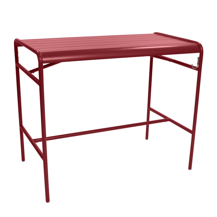 Fermob - Luxembourg Bar Table 73 x 126 cm, chili
