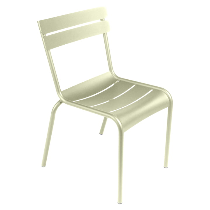 Luxembourg Chair by Fermob in lime green