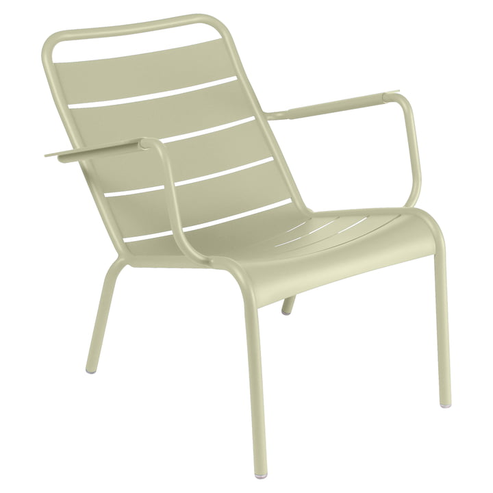 Luxembourg Deep armchair from Fermob in lime green