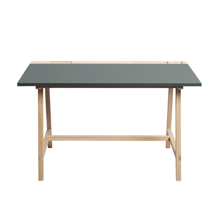Desk D1 by Andersen Furniture in Grey Green