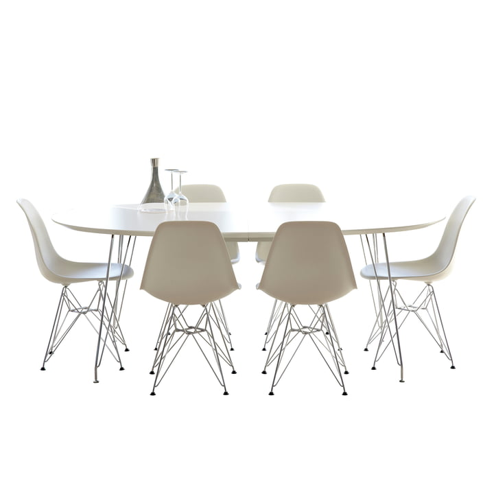 DK10 Dining Table from Andersen Furniture with Stainless Steel Base