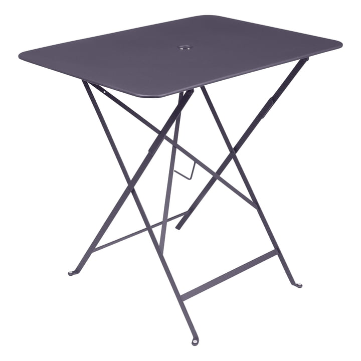 Bistro Folding table 77 x 57 cm from Fermob in plum