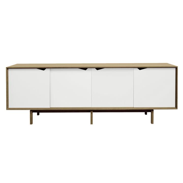 S1 Sideboard by Andersen Furniture in oiled oak / doors white