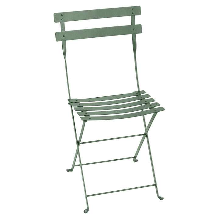 Bistro Folding chair metal by Fermob in cactus