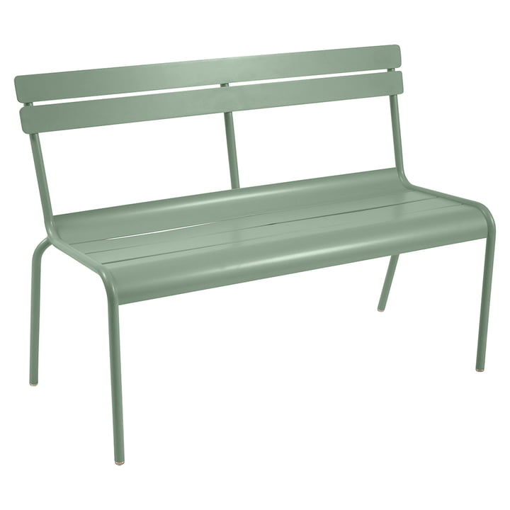 Luxembourg Bench stackable from fermob to cactus