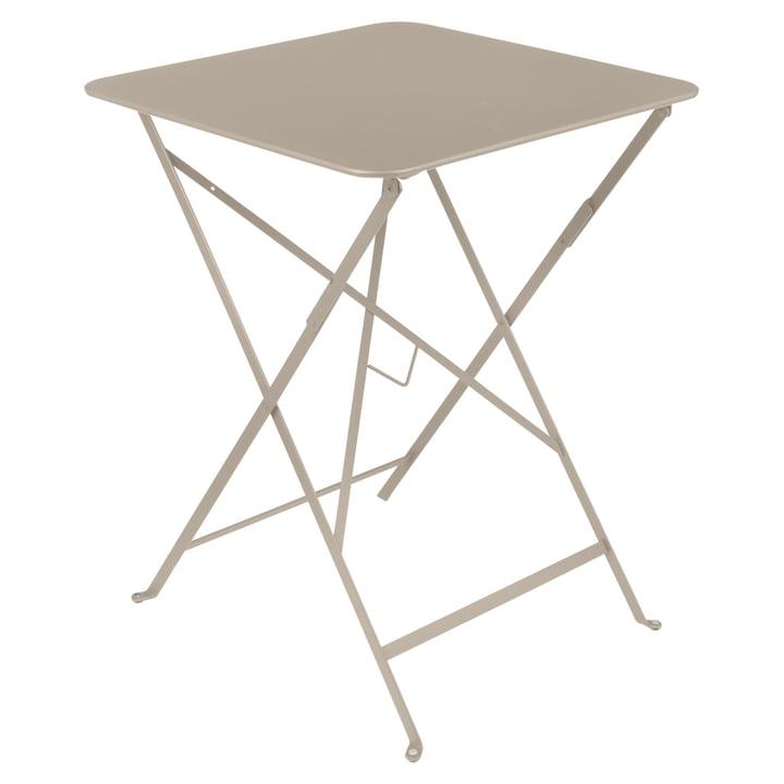 Fermob - Bistro Folding Table, 57 x 57, nutmeg