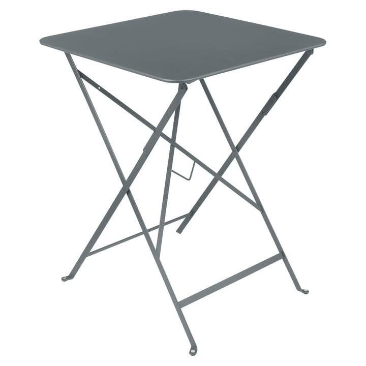 Fermob - Bistro Folding Table, 57 x 57, stormy grey