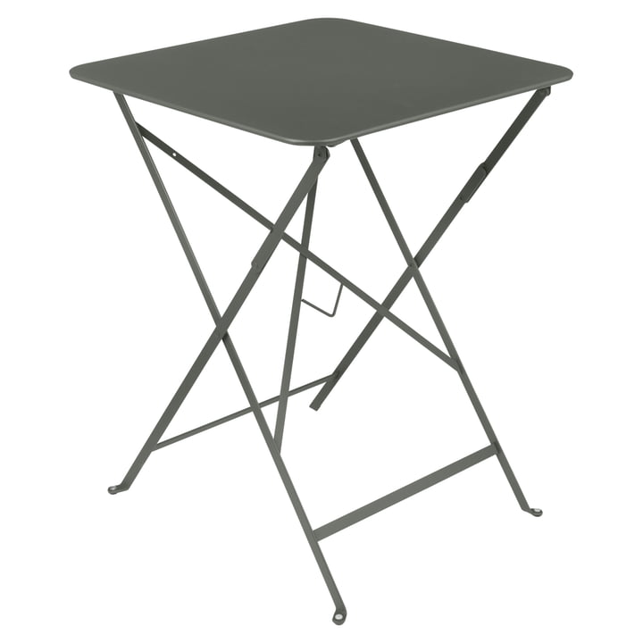 Fermob - Bistro Folding Table, 57 x 57, rosemary