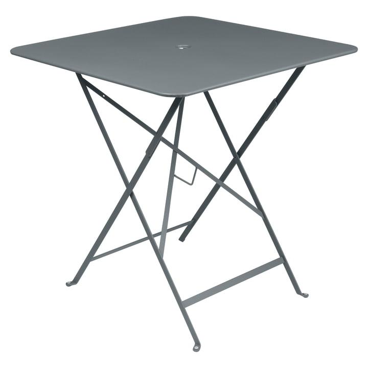 Fermob - Bistro Folding Table, 71 x 71, storm grey