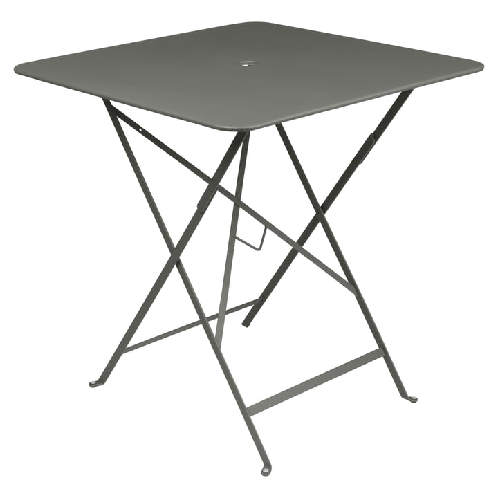 Fermob - Bistro Folding Table, 71 x 71, rosemary
