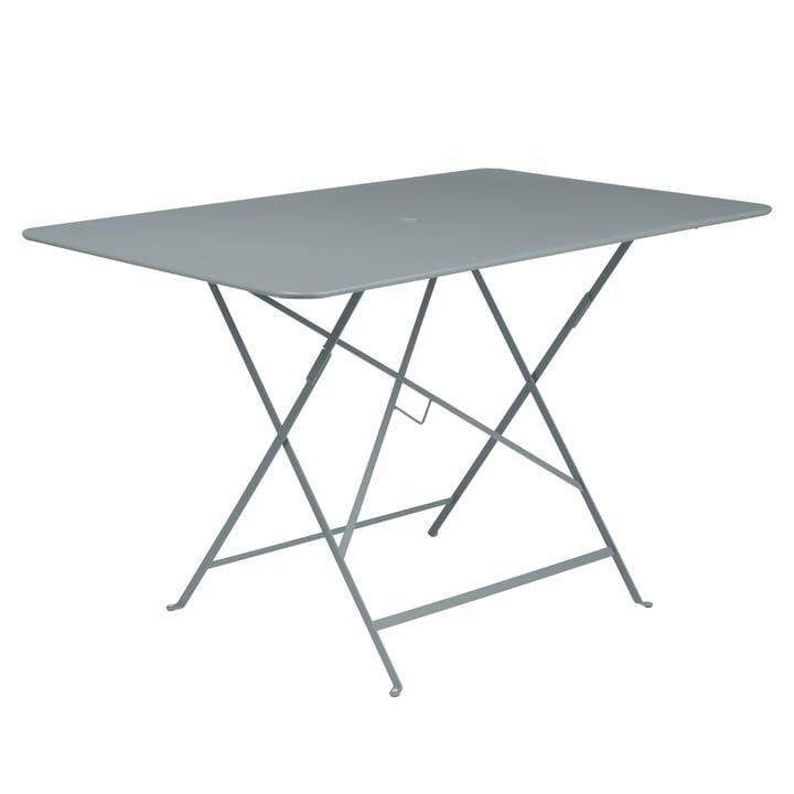Fermob - Bistro Folding Table, rectangular, 117 x 77 cm, storm grey