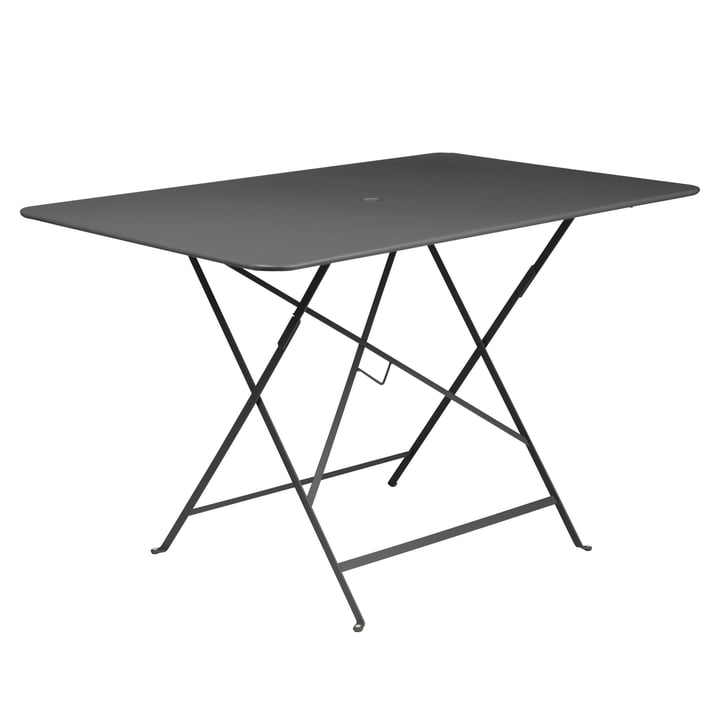 Fermob - Bistro Folding Table, rectangular, 117 x 77 cm, anthracite