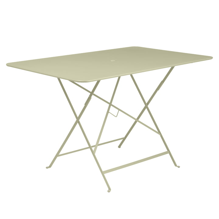 Fermob - Bistro Folding Table, rectangular, 117 x 77 cm, willow green