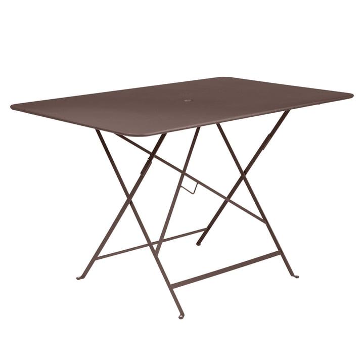 Fermob - Bistro Folding Table, rectangular, 117 x 77 cm, rust