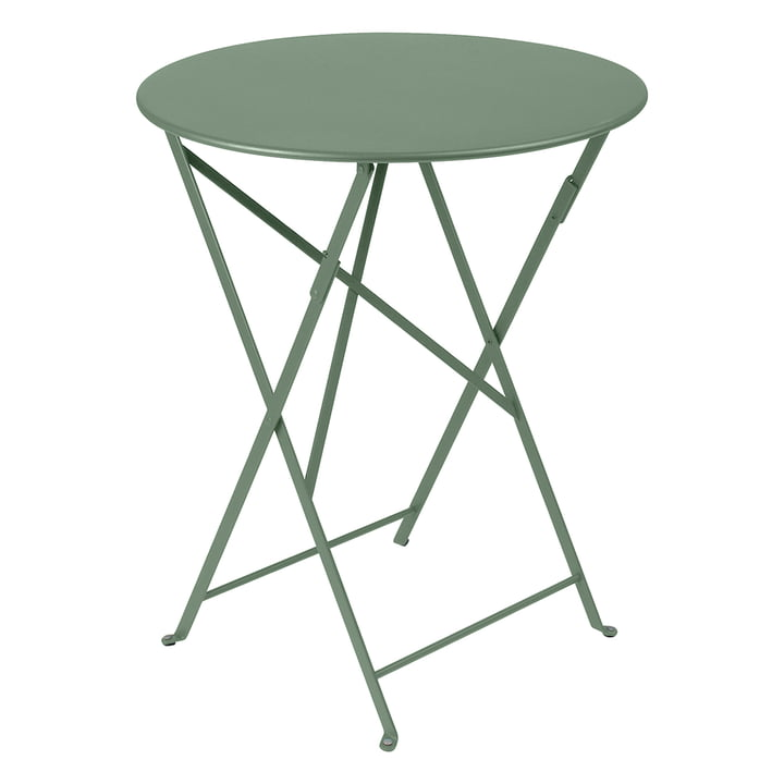 Bistro Folding table Ø 60 cm by Fermob in cactus