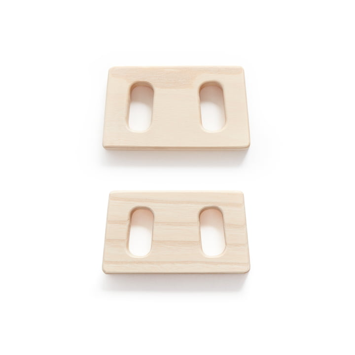 Connectors for Clothes Rack by Andersen Furniture in Ash (set of 2)