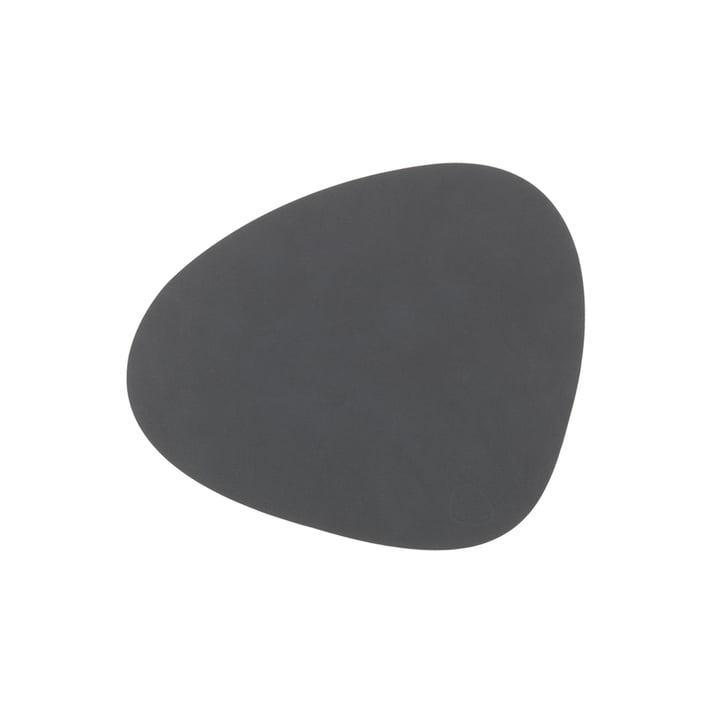 LindDNA Table Mat Curve S in gray