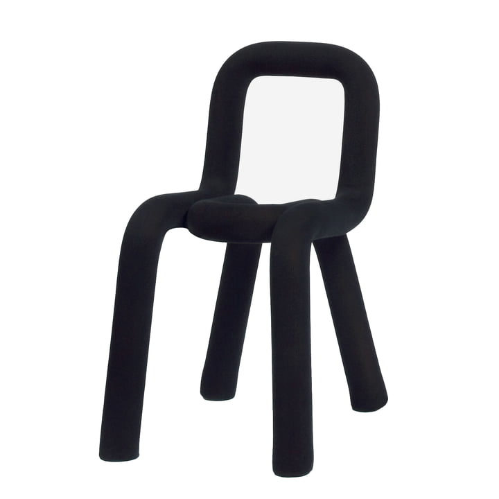 Bold Chair by Moustache in black