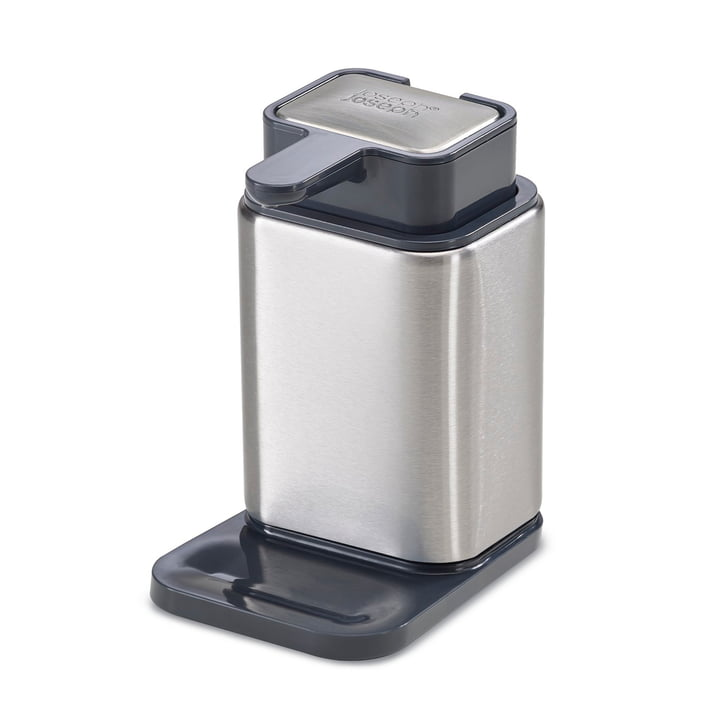 Surface Soap dispenser and stainless steel soap from Joseph Joseph